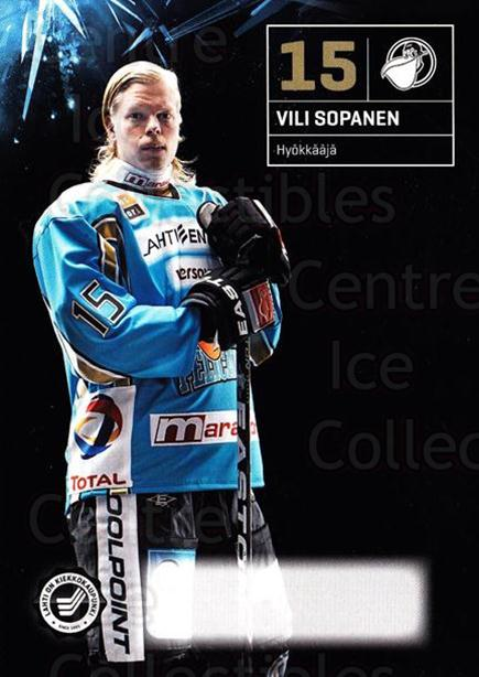 2011-12 Finnish Pelicans Postcards #9 Vili Sopanen<br/>1 In Stock - $3.00 each - <a href=https://centericecollectibles.foxycart.com/cart?name=2011-12%20Finnish%20Pelicans%20Postcards%20%239%20Vili%20Sopanen...&quantity_max=1&price=$3.00&code=697423 class=foxycart> Buy it now! </a>