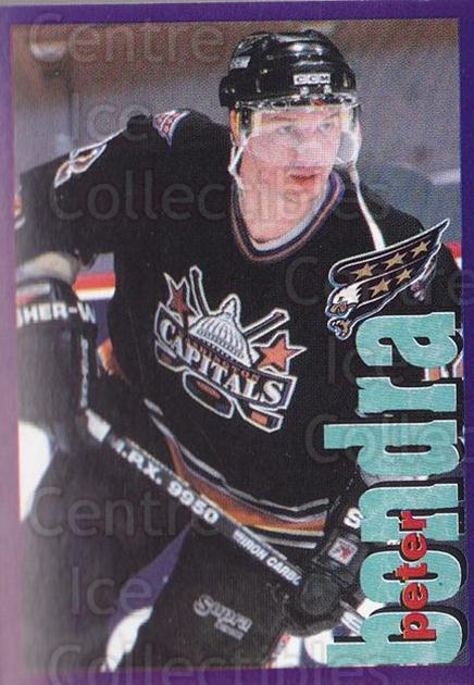 1998-99 Panini Stickers #104 Peter Bondra<br/>5 In Stock - $1.00 each - <a href=https://centericecollectibles.foxycart.com/cart?name=1998-99%20Panini%20Stickers%20%23104%20Peter%20Bondra...&quantity_max=5&price=$1.00&code=69742 class=foxycart> Buy it now! </a>