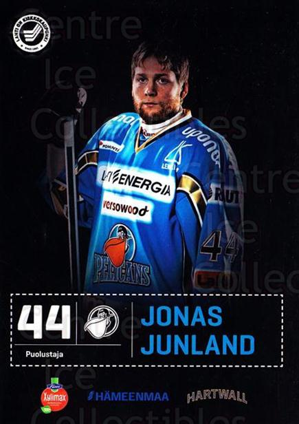 2012-13 Finnish Pelicans Postcards #28 Jonas Junland<br/>1 In Stock - $3.00 each - <a href=https://centericecollectibles.foxycart.com/cart?name=2012-13%20Finnish%20Pelicans%20Postcards%20%2328%20Jonas%20Junland...&quantity_max=1&price=$3.00&code=697446 class=foxycart> Buy it now! </a>