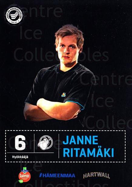 2012-13 Finnish Pelicans Postcards #34 Janne Ritamaki<br/>2 In Stock - $3.00 each - <a href=https://centericecollectibles.foxycart.com/cart?name=2012-13%20Finnish%20Pelicans%20Postcards%20%2334%20Janne%20Ritamaki...&quantity_max=2&price=$3.00&code=697452 class=foxycart> Buy it now! </a>