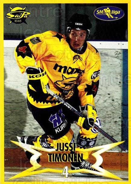 2004-05 Finnish SaiPa Lappeenranta Postcards #12 Jussi Timonen<br/>1 In Stock - $3.00 each - <a href=https://centericecollectibles.foxycart.com/cart?name=2004-05%20Finnish%20SaiPa%20Lappeenranta%20Postcards%20%2312%20Jussi%20Timonen...&quantity_max=1&price=$3.00&code=697454 class=foxycart> Buy it now! </a>