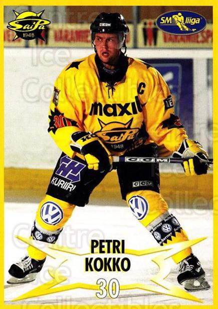 2004-05 Finnish SaiPa Lappeenranta Postcards #17 Perti Kokko<br/>1 In Stock - $3.00 each - <a href=https://centericecollectibles.foxycart.com/cart?name=2004-05%20Finnish%20SaiPa%20Lappeenranta%20Postcards%20%2317%20Perti%20Kokko...&quantity_max=1&price=$3.00&code=697459 class=foxycart> Buy it now! </a>