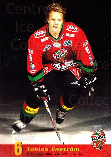 2004-05 Swedish MODO Hockey Postcards #4 Tobias Enstrom<br/>2 In Stock - $3.00 each - <a href=https://centericecollectibles.foxycart.com/cart?name=2004-05%20Swedish%20MODO%20Hockey%20Postcards%20%234%20Tobias%20Enstrom...&quantity_max=2&price=$3.00&code=697519 class=foxycart> Buy it now! </a>
