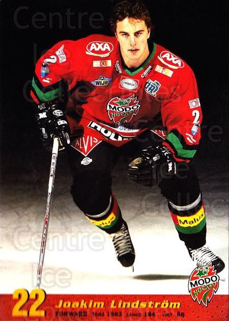 2004-05 Swedish MODO Hockey Postcards #15 Joakim Lindstrom<br/>1 In Stock - $3.00 each - <a href=https://centericecollectibles.foxycart.com/cart?name=2004-05%20Swedish%20MODO%20Hockey%20Postcards%20%2315%20Joakim%20Lindstro...&quantity_max=1&price=$3.00&code=697521 class=foxycart> Buy it now! </a>