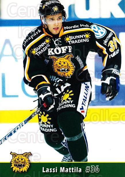 2007-08 Finnish Ilves Tampere Postcards #8 Lassi Mattila<br/>5 In Stock - $3.00 each - <a href=https://centericecollectibles.foxycart.com/cart?name=2007-08%20Finnish%20Ilves%20Tampere%20Postcards%20%238%20Lassi%20Mattila...&quantity_max=5&price=$3.00&code=697573 class=foxycart> Buy it now! </a>