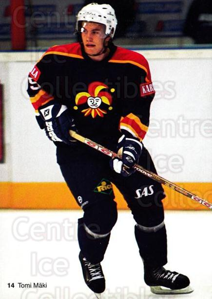 2003-04 Finnish Jokerit Helsinki Postcards #2 Tomi Maki<br/>2 In Stock - $3.00 each - <a href=https://centericecollectibles.foxycart.com/cart?name=2003-04%20Finnish%20Jokerit%20Helsinki%20Postcards%20%232%20Tomi%20Maki...&price=$3.00&code=697584 class=foxycart> Buy it now! </a>