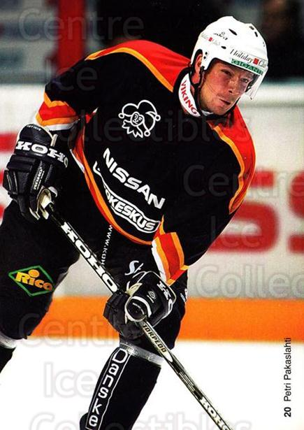 2003-04 Finnish Jokerit Helsinki Postcards #3 Petri Pakaslahti<br/>2 In Stock - $3.00 each - <a href=https://centericecollectibles.foxycart.com/cart?name=2003-04%20Finnish%20Jokerit%20Helsinki%20Postcards%20%233%20Petri%20Pakaslaht...&price=$3.00&code=697585 class=foxycart> Buy it now! </a>