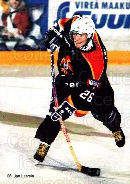 2003-04 Finnish Jokerit Helsinki Postcards #4 Jan Latvala<br/>1 In Stock - $3.00 each - <a href=https://centericecollectibles.foxycart.com/cart?name=2003-04%20Finnish%20Jokerit%20Helsinki%20Postcards%20%234%20Jan%20Latvala...&price=$3.00&code=697586 class=foxycart> Buy it now! </a>