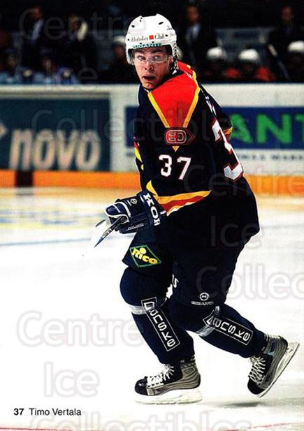 2003-04 Finnish Jokerit Helsinki Postcards #7 Timo Vertala<br/>2 In Stock - $3.00 each - <a href=https://centericecollectibles.foxycart.com/cart?name=2003-04%20Finnish%20Jokerit%20Helsinki%20Postcards%20%237%20Timo%20Vertala...&price=$3.00&code=697589 class=foxycart> Buy it now! </a>