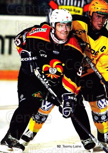 2003-04 Finnish Jokerit Helsinki Postcards #12 Teemu Laine<br/>2 In Stock - $3.00 each - <a href=https://centericecollectibles.foxycart.com/cart?name=2003-04%20Finnish%20Jokerit%20Helsinki%20Postcards%20%2312%20Teemu%20Laine...&price=$3.00&code=697594 class=foxycart> Buy it now! </a>