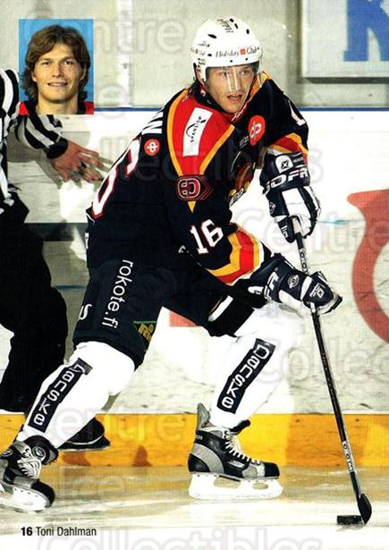 2004-05 Finnish Jokerit Helsinki Postcards #6 Toni Dahlman<br/>1 In Stock - $3.00 each - <a href=https://centericecollectibles.foxycart.com/cart?name=2004-05%20Finnish%20Jokerit%20Helsinki%20Postcards%20%236%20Toni%20Dahlman...&price=$3.00&code=697600 class=foxycart> Buy it now! </a>