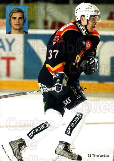 2004-05 Finnish Jokerit Helsinki Postcards #10 Timo Vertala<br/>1 In Stock - $3.00 each - <a href=https://centericecollectibles.foxycart.com/cart?name=2004-05%20Finnish%20Jokerit%20Helsinki%20Postcards%20%2310%20Timo%20Vertala...&price=$3.00&code=697604 class=foxycart> Buy it now! </a>