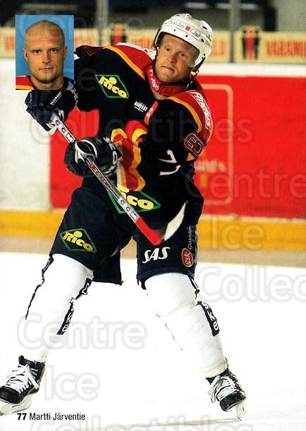 2004-05 Finnish Jokerit Helsinki Postcards #12 Martti Jarventie<br/>1 In Stock - $3.00 each - <a href=https://centericecollectibles.foxycart.com/cart?name=2004-05%20Finnish%20Jokerit%20Helsinki%20Postcards%20%2312%20Martti%20Jarventi...&price=$3.00&code=697606 class=foxycart> Buy it now! </a>
