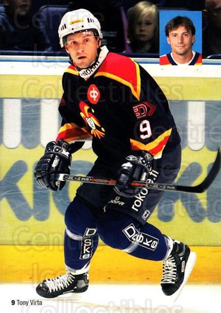 2005-06 Finnish Jokerit Helsinki Postcards #2 Tony Virta<br/>1 In Stock - $3.00 each - <a href=https://centericecollectibles.foxycart.com/cart?name=2005-06%20Finnish%20Jokerit%20Helsinki%20Postcards%20%232%20Tony%20Virta...&price=$3.00&code=697609 class=foxycart> Buy it now! </a>
