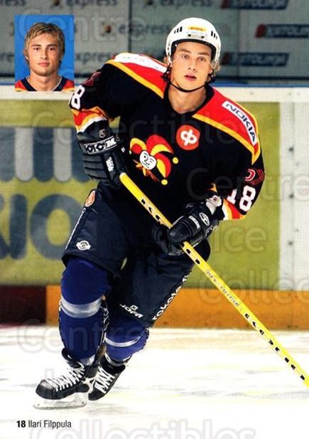 2005-06 Finnish Jokerit Helsinki Postcards #5 Ilari Filppula<br/>1 In Stock - $3.00 each - <a href=https://centericecollectibles.foxycart.com/cart?name=2005-06%20Finnish%20Jokerit%20Helsinki%20Postcards%20%235%20Ilari%20Filppula...&price=$3.00&code=697612 class=foxycart> Buy it now! </a>