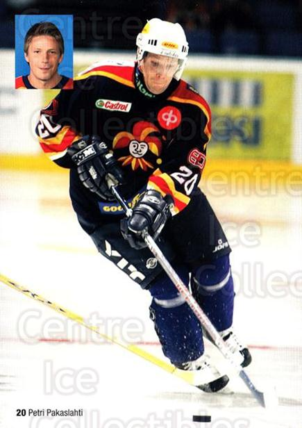 2005-06 Finnish Jokerit Helsinki Postcards #6 Petri Pakaslahti<br/>1 In Stock - $3.00 each - <a href=https://centericecollectibles.foxycart.com/cart?name=2005-06%20Finnish%20Jokerit%20Helsinki%20Postcards%20%236%20Petri%20Pakaslaht...&price=$3.00&code=697613 class=foxycart> Buy it now! </a>