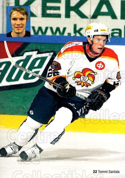 2005-06 Finnish Jokerit Helsinki Postcards #7 Tommi Santala<br/>3 In Stock - $3.00 each - <a href=https://centericecollectibles.foxycart.com/cart?name=2005-06%20Finnish%20Jokerit%20Helsinki%20Postcards%20%237%20Tommi%20Santala...&price=$3.00&code=697614 class=foxycart> Buy it now! </a>