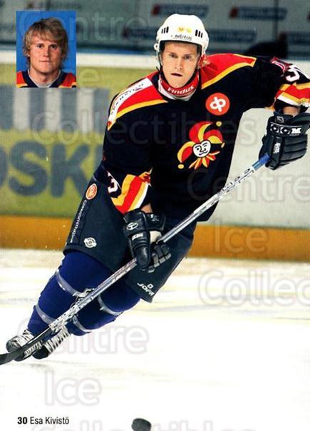 2005-06 Finnish Jokerit Helsinki Postcards #12 Esa Kivisto<br/>1 In Stock - $3.00 each - <a href=https://centericecollectibles.foxycart.com/cart?name=2005-06%20Finnish%20Jokerit%20Helsinki%20Postcards%20%2312%20Esa%20Kivisto...&price=$3.00&code=697619 class=foxycart> Buy it now! </a>