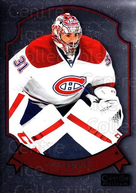 2014-15 O-Pee-Chee Platinum Retro #28 Carey Price<br/>2 In Stock - $10.00 each - <a href=https://centericecollectibles.foxycart.com/cart?name=2014-15%20O-Pee-Chee%20Platinum%20Retro%20%2328%20Carey%20Price...&price=$10.00&code=697651 class=foxycart> Buy it now! </a>