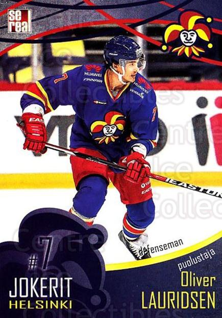 2016-17 Finnish Jokerit Helsinki Sereal #B06 Oliver Lauridsen<br/>7 In Stock - $2.00 each - <a href=https://centericecollectibles.foxycart.com/cart?name=2016-17%20Finnish%20Jokerit%20Helsinki%20Sereal%20%23B06%20Oliver%20Lauridse...&quantity_max=7&price=$2.00&code=697729 class=foxycart> Buy it now! </a>
