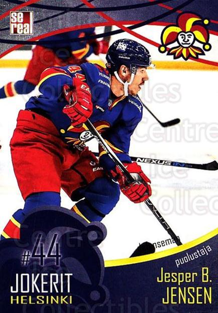 2016-17 Finnish Jokerit Helsinki Sereal #B09 Jesper Jensen<br/>8 In Stock - $2.00 each - <a href=https://centericecollectibles.foxycart.com/cart?name=2016-17%20Finnish%20Jokerit%20Helsinki%20Sereal%20%23B09%20Jesper%20Jensen...&quantity_max=8&price=$2.00&code=697732 class=foxycart> Buy it now! </a>