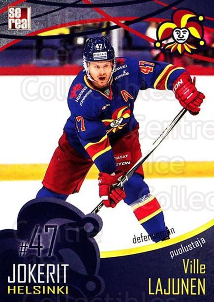 2016-17 Finnish Jokerit Helsinki Sereal #B10 Ville Lajunen<br/>8 In Stock - $2.00 each - <a href=https://centericecollectibles.foxycart.com/cart?name=2016-17%20Finnish%20Jokerit%20Helsinki%20Sereal%20%23B10%20Ville%20Lajunen...&quantity_max=8&price=$2.00&code=697733 class=foxycart> Buy it now! </a>