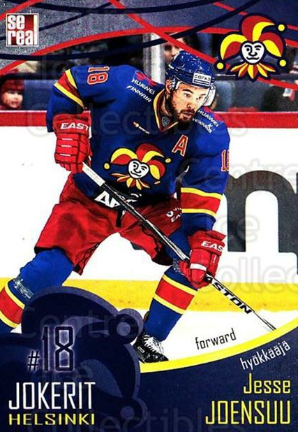 2016-17 Finnish Jokerit Helsinki Sereal #B17 Jesse Joensuu<br/>8 In Stock - $2.00 each - <a href=https://centericecollectibles.foxycart.com/cart?name=2016-17%20Finnish%20Jokerit%20Helsinki%20Sereal%20%23B17%20Jesse%20Joensuu...&quantity_max=8&price=$2.00&code=697740 class=foxycart> Buy it now! </a>