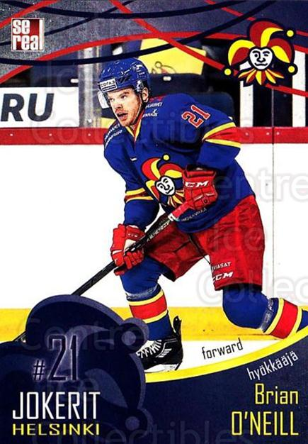 2016-17 Finnish Jokerit Helsinki Sereal #B19 Brian Oneill<br/>7 In Stock - $2.00 each - <a href=https://centericecollectibles.foxycart.com/cart?name=2016-17%20Finnish%20Jokerit%20Helsinki%20Sereal%20%23B19%20Brian%20Oneill...&quantity_max=7&price=$2.00&code=697742 class=foxycart> Buy it now! </a>