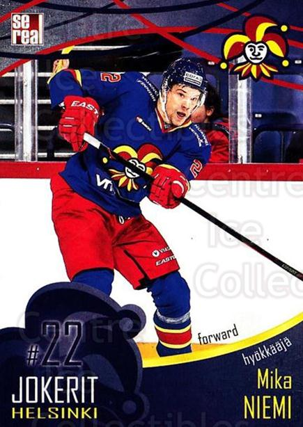 2016-17 Finnish Jokerit Helsinki Sereal #B20 Mika Niemi<br/>8 In Stock - $2.00 each - <a href=https://centericecollectibles.foxycart.com/cart?name=2016-17%20Finnish%20Jokerit%20Helsinki%20Sereal%20%23B20%20Mika%20Niemi...&quantity_max=8&price=$2.00&code=697743 class=foxycart> Buy it now! </a>