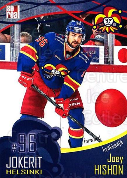 2016-17 Finnish Jokerit Helsinki Sereal #B30 Joey Hishon<br/>6 In Stock - $2.00 each - <a href=https://centericecollectibles.foxycart.com/cart?name=2016-17%20Finnish%20Jokerit%20Helsinki%20Sereal%20%23B30%20Joey%20Hishon...&quantity_max=6&price=$2.00&code=697753 class=foxycart> Buy it now! </a>
