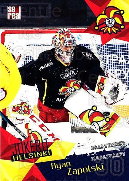 2016-17 Finnish Jokerit Helsinki Sereal #G02 Ryan Zapolski<br/>5 In Stock - $2.00 each - <a href=https://centericecollectibles.foxycart.com/cart?name=2016-17%20Finnish%20Jokerit%20Helsinki%20Sereal%20%23G02%20Ryan%20Zapolski...&quantity_max=5&price=$2.00&code=697761 class=foxycart> Buy it now! </a>