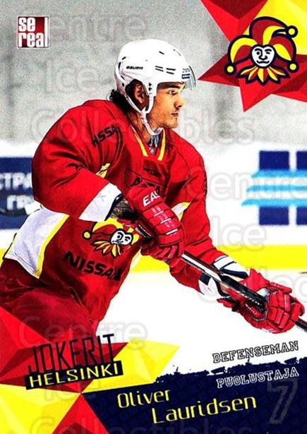 2016-17 Finnish Jokerit Helsinki Sereal #G07 Oliver Lauridsen<br/>8 In Stock - $2.00 each - <a href=https://centericecollectibles.foxycart.com/cart?name=2016-17%20Finnish%20Jokerit%20Helsinki%20Sereal%20%23G07%20Oliver%20Lauridse...&quantity_max=8&price=$2.00&code=697766 class=foxycart> Buy it now! </a>