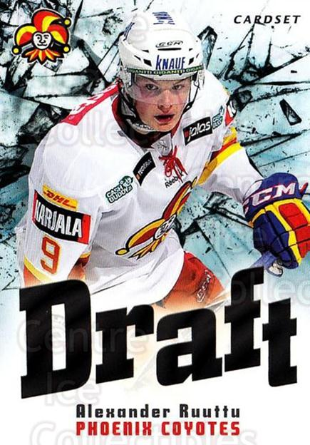 2012-13 Finnish Cardset Draft #5 Alexander Ruuttu<br/>1 In Stock - $3.00 each - <a href=https://centericecollectibles.foxycart.com/cart?name=2012-13%20Finnish%20Cardset%20Draft%20%235%20Alexander%20Ruutt...&quantity_max=1&price=$3.00&code=697845 class=foxycart> Buy it now! </a>