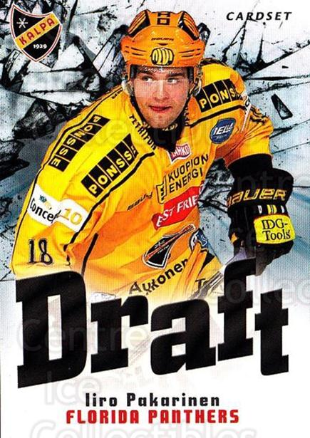 2012-13 Finnish Cardset Draft #7 Iiro Pakarinen<br/>2 In Stock - $3.00 each - <a href=https://centericecollectibles.foxycart.com/cart?name=2012-13%20Finnish%20Cardset%20Draft%20%237%20Iiro%20Pakarinen...&quantity_max=2&price=$3.00&code=697847 class=foxycart> Buy it now! </a>