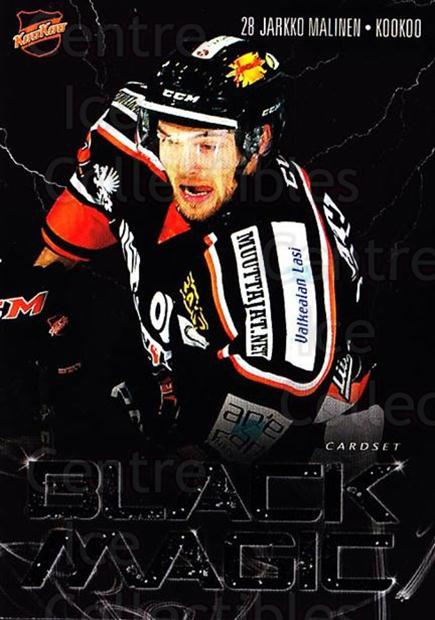 2016-17 Finnish Cardset Black Magic #7 Jarkko Malinen<br/>1 In Stock - $3.00 each - <a href=https://centericecollectibles.foxycart.com/cart?name=2016-17%20Finnish%20Cardset%20Black%20Magic%20%237%20Jarkko%20Malinen...&quantity_max=1&price=$3.00&code=697871 class=foxycart> Buy it now! </a>