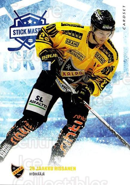 2016-17 Finnish Cardset Stick Master #6 Jaakko Rissanen<br/>5 In Stock - $3.00 each - <a href=https://centericecollectibles.foxycart.com/cart?name=2016-17%20Finnish%20Cardset%20Stick%20Master%20%236%20Jaakko%20Rissanen...&quantity_max=5&price=$3.00&code=697927 class=foxycart> Buy it now! </a>