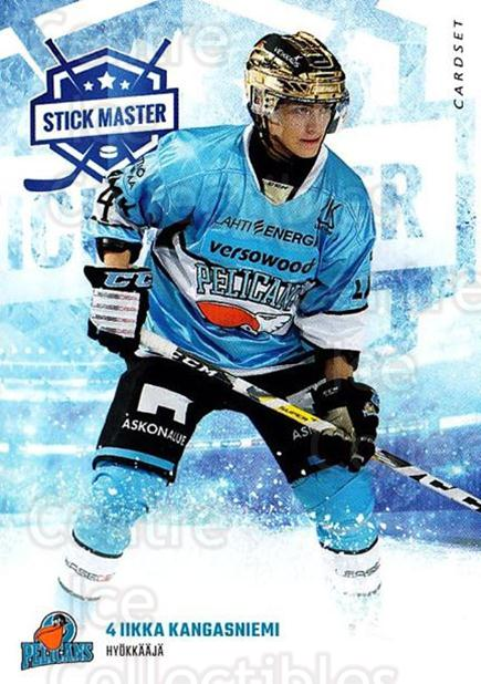 2016-17 Finnish Cardset Stick Master #10 Iikka Kangasniemi<br/>7 In Stock - $3.00 each - <a href=https://centericecollectibles.foxycart.com/cart?name=2016-17%20Finnish%20Cardset%20Stick%20Master%20%2310%20Iikka%20Kangasnie...&quantity_max=7&price=$3.00&code=697931 class=foxycart> Buy it now! </a>