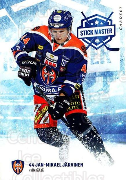 2016-17 Finnish Cardset Stick Master #13 Jan-Mikael Jarvinen<br/>5 In Stock - $3.00 each - <a href=https://centericecollectibles.foxycart.com/cart?name=2016-17%20Finnish%20Cardset%20Stick%20Master%20%2313%20Jan-Mikael%20Jarv...&quantity_max=5&price=$3.00&code=697934 class=foxycart> Buy it now! </a>