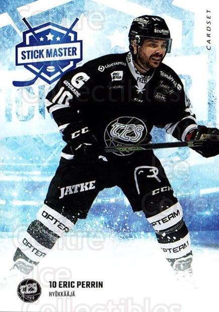 2016-17 Finnish Cardset Stick Master #14 Eric Perrin<br/>6 In Stock - $3.00 each - <a href=https://centericecollectibles.foxycart.com/cart?name=2016-17%20Finnish%20Cardset%20Stick%20Master%20%2314%20Eric%20Perrin...&quantity_max=6&price=$3.00&code=697935 class=foxycart> Buy it now! </a>