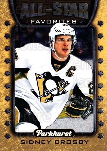 2016-17 Parkhurst All Star Favorites #1 Sidney Crosby<br/>1 In Stock - $5.00 each - <a href=https://centericecollectibles.foxycart.com/cart?name=2016-17%20Parkhurst%20All%20Star%20Favorites%20%231%20Sidney%20Crosby...&quantity_max=1&price=$5.00&code=697937 class=foxycart> Buy it now! </a>