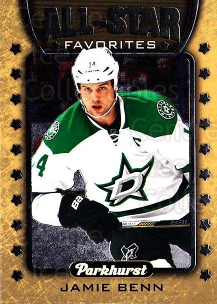 2016-17 Parkhurst All Star Favorites #3 Jamie Benn<br/>2 In Stock - $3.00 each - <a href=https://centericecollectibles.foxycart.com/cart?name=2016-17%20Parkhurst%20All%20Star%20Favorites%20%233%20Jamie%20Benn...&quantity_max=2&price=$3.00&code=697939 class=foxycart> Buy it now! </a>