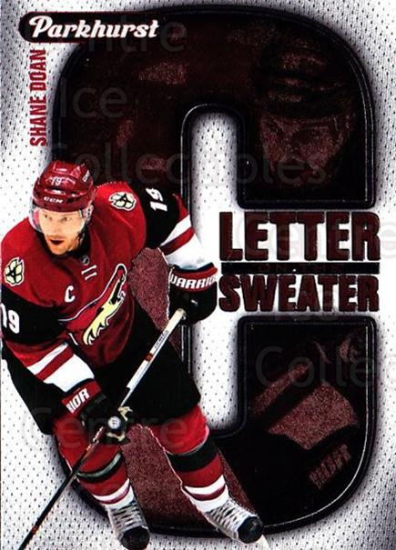 2016-17 Parkhurst Letter On The Sweater #3 Shane Doan<br/>1 In Stock - $3.00 each - <a href=https://centericecollectibles.foxycart.com/cart?name=2016-17%20Parkhurst%20Letter%20On%20The%20Sweater%20%233%20Shane%20Doan...&quantity_max=1&price=$3.00&code=697949 class=foxycart> Buy it now! </a>