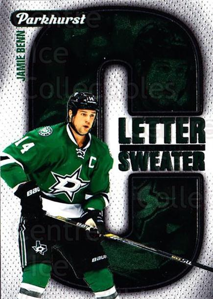 2016-17 Parkhurst Letter On The Sweater #8 Jamie Benn<br/>1 In Stock - $3.00 each - <a href=https://centericecollectibles.foxycart.com/cart?name=2016-17%20Parkhurst%20Letter%20On%20The%20Sweater%20%238%20Jamie%20Benn...&quantity_max=1&price=$3.00&code=697954 class=foxycart> Buy it now! </a>