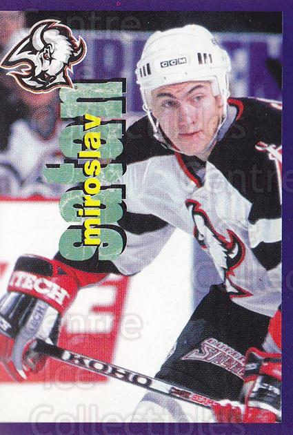 1998-99 Panini Stickers #16 Miroslav Satan<br/>6 In Stock - $1.00 each - <a href=https://centericecollectibles.foxycart.com/cart?name=1998-99%20Panini%20Stickers%20%2316%20Miroslav%20Satan...&quantity_max=6&price=$1.00&code=69799 class=foxycart> Buy it now! </a>