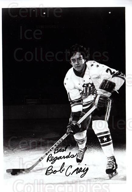 1971-72 Rochester Americans #4 Bob Craig<br/>1 In Stock - $10.00 each - <a href=https://centericecollectibles.foxycart.com/cart?name=1971-72%20Rochester%20Americans%20%234%20Bob%20Craig...&quantity_max=1&price=$10.00&code=698055 class=foxycart> Buy it now! </a>
