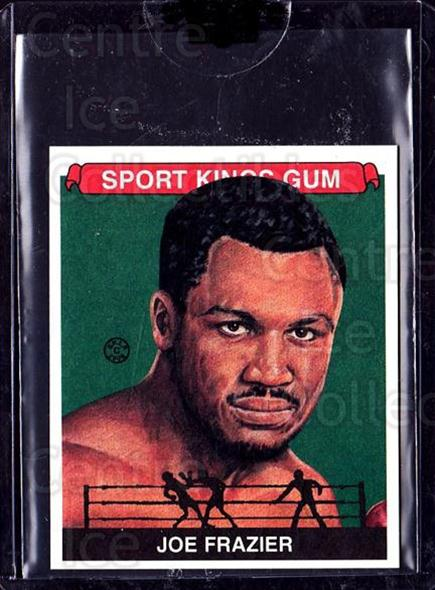 2008 Sportkings Mini #60 Joe Frazier<br/>2 In Stock - $10.00 each - <a href=https://centericecollectibles.foxycart.com/cart?name=2008%20Sportkings%20Mini%20%2360%20Joe%20Frazier...&quantity_max=2&price=$10.00&code=698277 class=foxycart> Buy it now! </a>