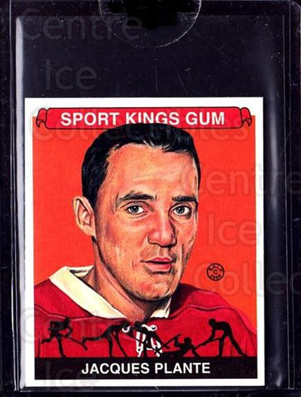 2008 Sportkings Mini #88 Jacques Plante<br/>9 In Stock - $10.00 each - <a href=https://centericecollectibles.foxycart.com/cart?name=2008%20Sportkings%20Mini%20%2388%20Jacques%20Plante...&quantity_max=9&price=$10.00&code=698305 class=foxycart> Buy it now! </a>