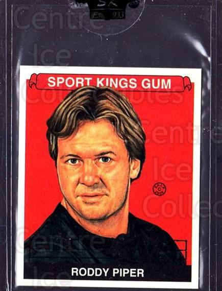 2009 Sportkings Mini #117 Roddy Piper<br/>2 In Stock - $10.00 each - <a href=https://centericecollectibles.foxycart.com/cart?name=2009%20Sportkings%20Mini%20%23117%20Roddy%20Piper...&price=$10.00&code=698334 class=foxycart> Buy it now! </a>