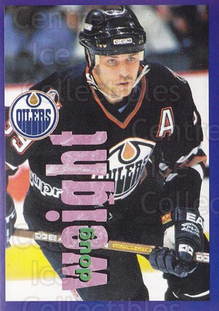 1998-99 Panini Stickers #197 Doug Weight<br/>6 In Stock - $1.00 each - <a href=https://centericecollectibles.foxycart.com/cart?name=1998-99%20Panini%20Stickers%20%23197%20Doug%20Weight...&quantity_max=6&price=$1.00&code=69834 class=foxycart> Buy it now! </a>