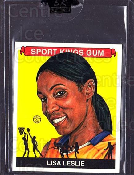 2009 Sportkings Mini #157 Lisa Leslie<br/>3 In Stock - $10.00 each - <a href=https://centericecollectibles.foxycart.com/cart?name=2009%20Sportkings%20Mini%20%23157%20Lisa%20Leslie...&price=$10.00&code=698374 class=foxycart> Buy it now! </a>